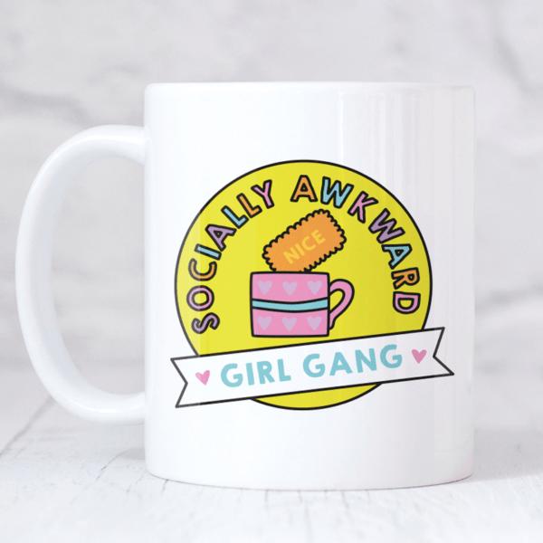 Socially Awkward Girl Gang