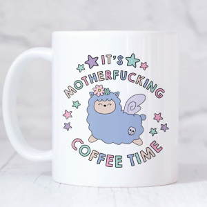 magical llama coffee mug
