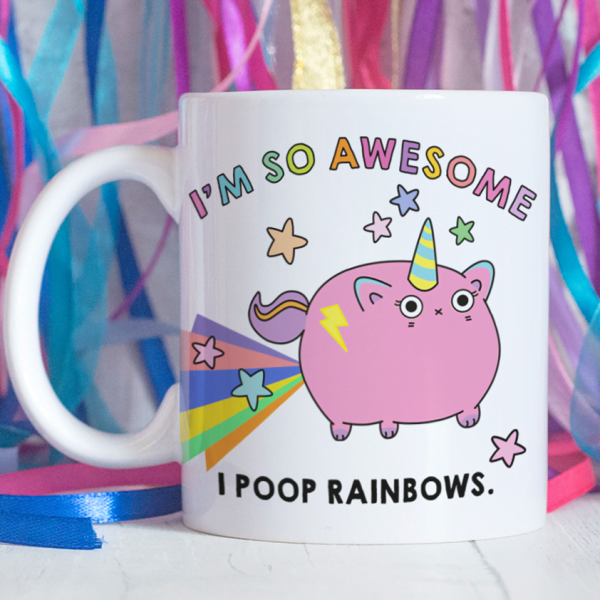Unicorn Poop Mug