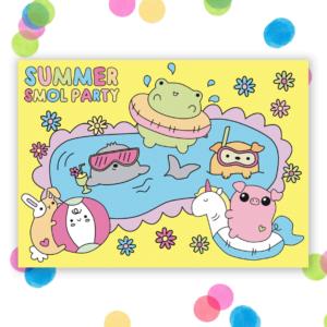 cute postcard
