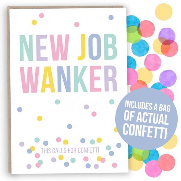 funny new job card