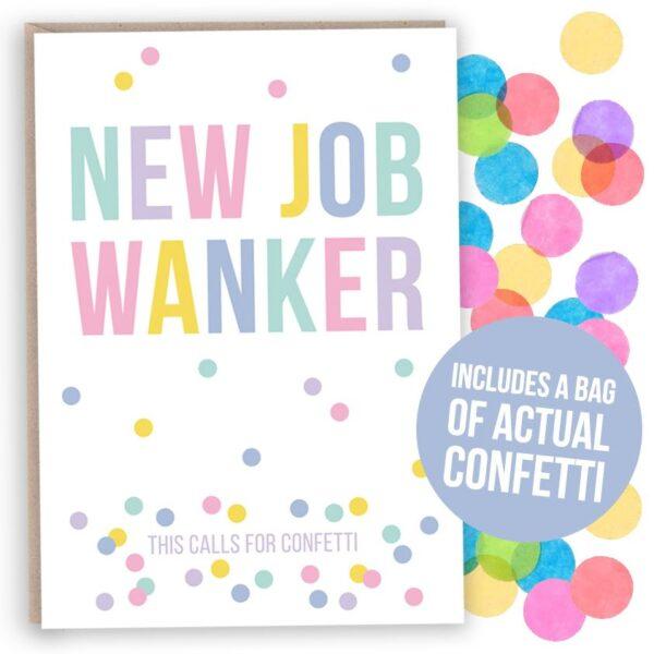 funny new job card