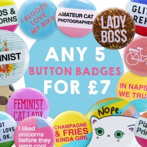 funny button badges