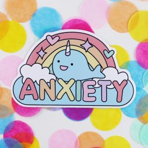 anxiety sticker