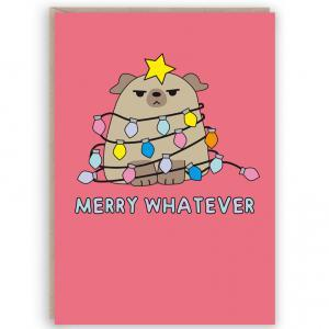 funny cute christmas card
