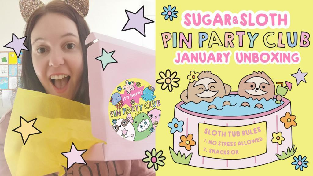 Pin Party Club cute pin subscription box uk