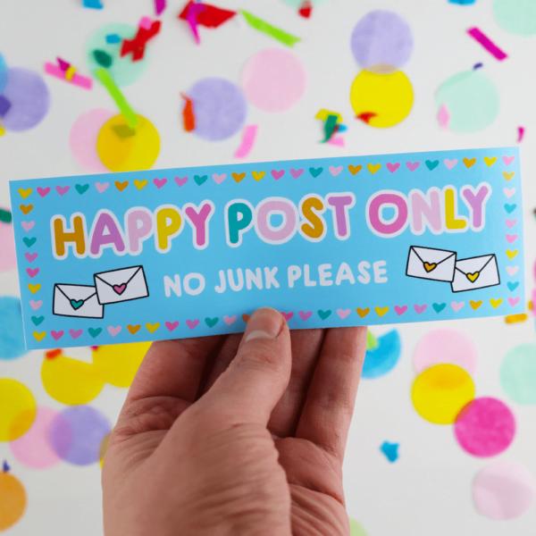 happy post letter box