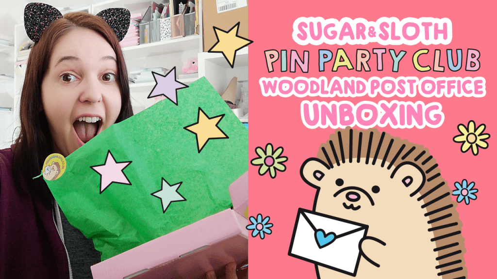 woodland post office pin party club