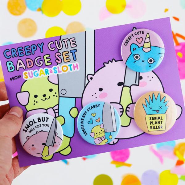 Spoopy Halloween Badges
