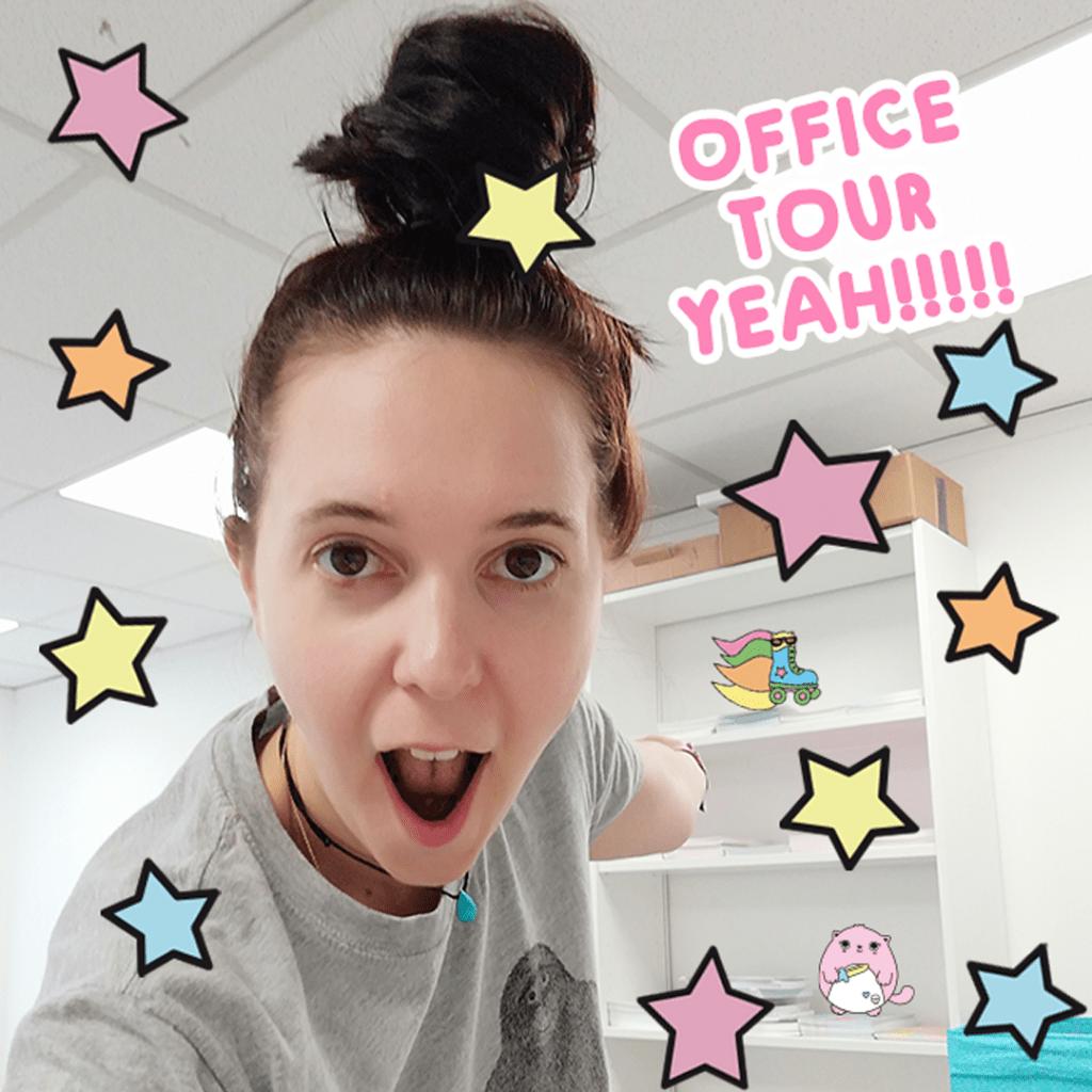 Sugar & Sloth office tour