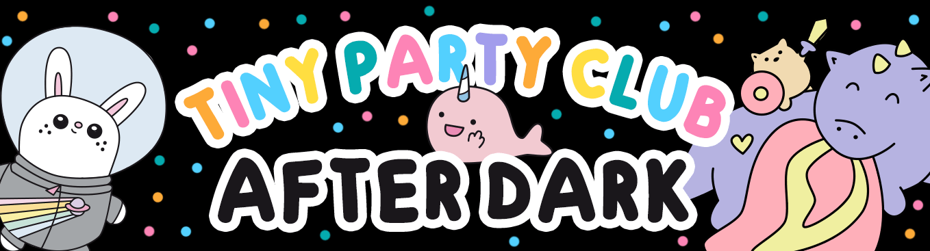 Tiny Party Club After Dark subscription box