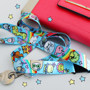Kawaii cute lanyard