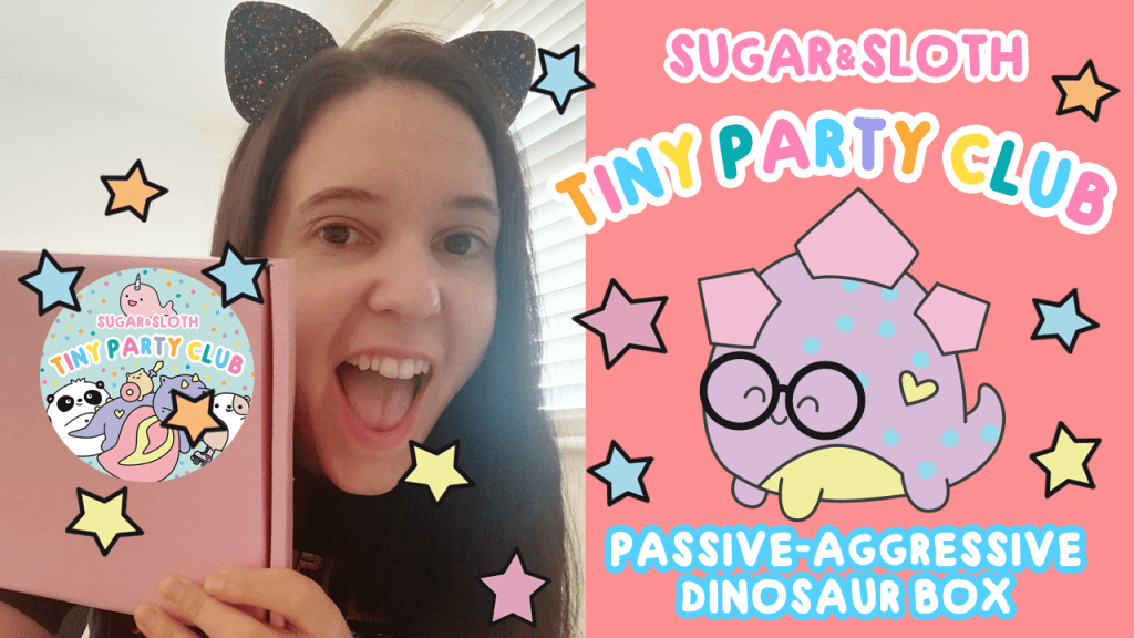 passive aggressive dinosaurs tiny party club subscription box