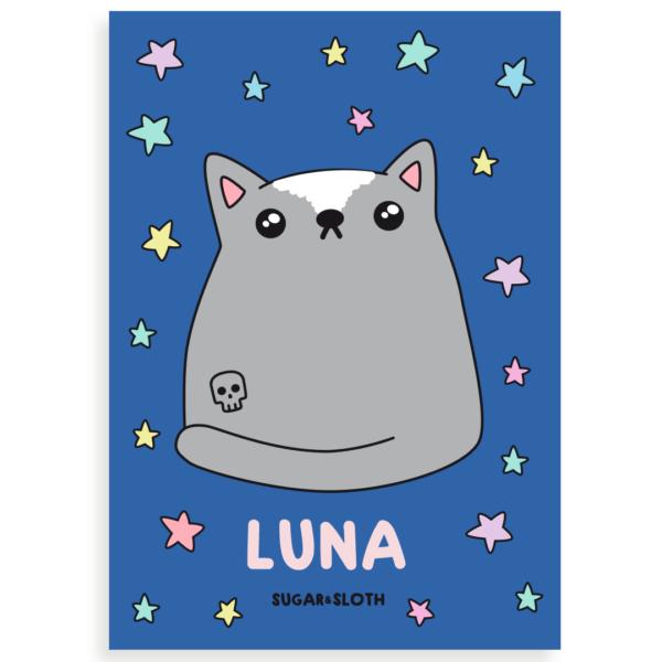 Custom cat drawing