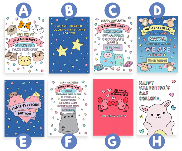 Valentines Day Cute cards