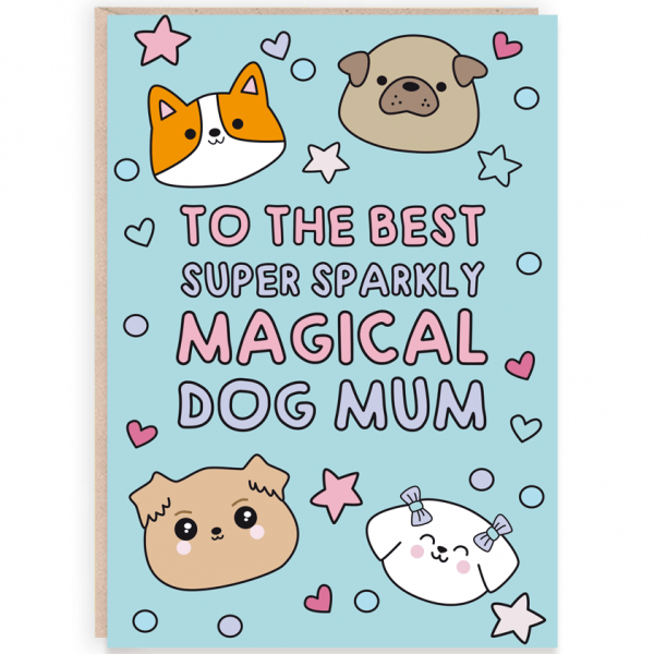 Dog mum card