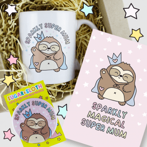 Sparkly Magical Super Mum Gift Set