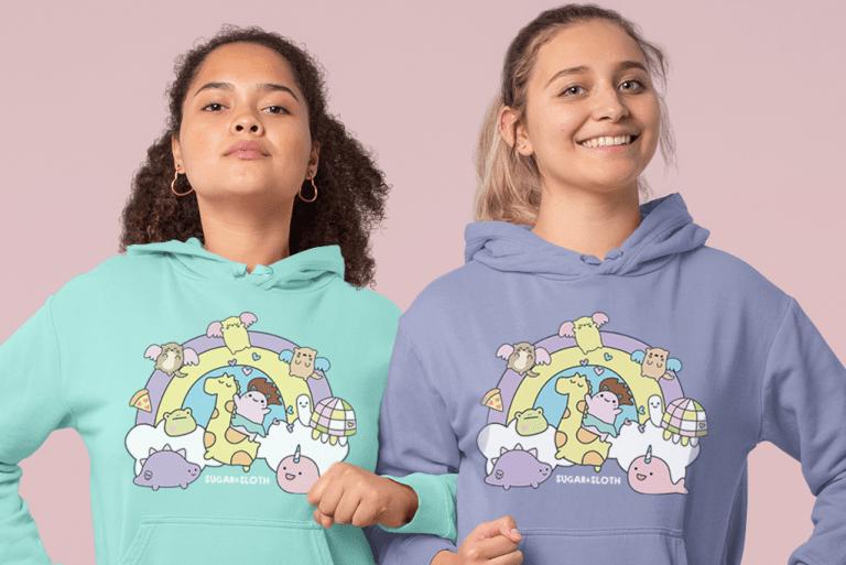 The Rainbwo Sweater of Dreams