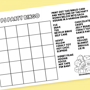 pj party bingo card free download