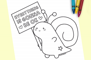 Cute colouring sheets