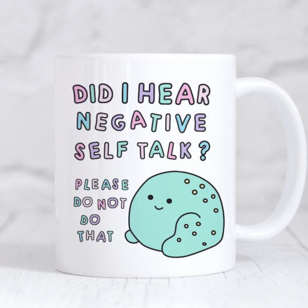 negative self-care frog mug