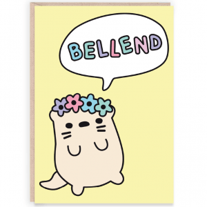 Bellend funny birthday card