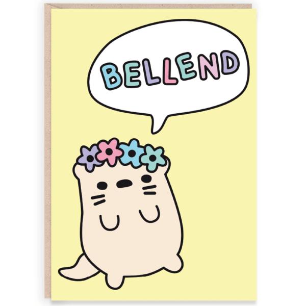 Bellend funny birthday card