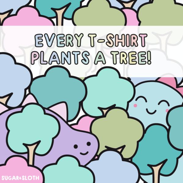 Tree shirt club by Sugar and Sloth