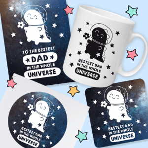 space dinosaur gift set for dad