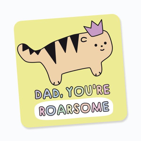 Roar some dad coaster