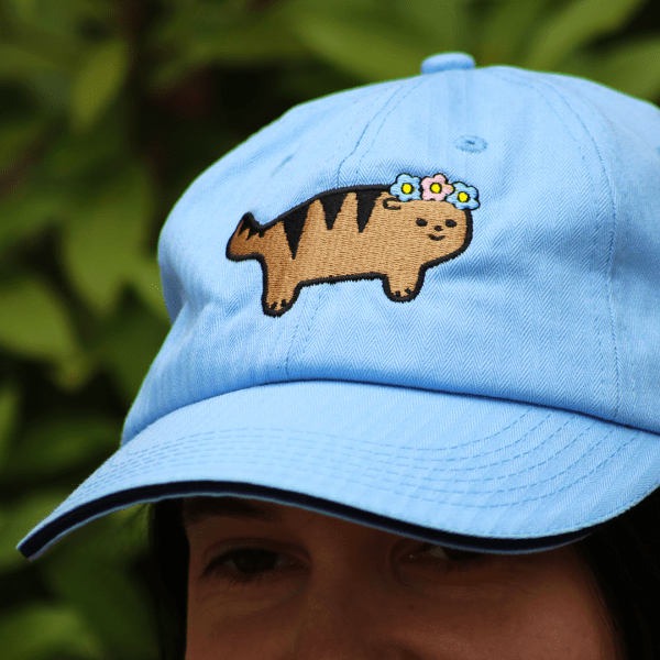 Cute kawaii hat tiger