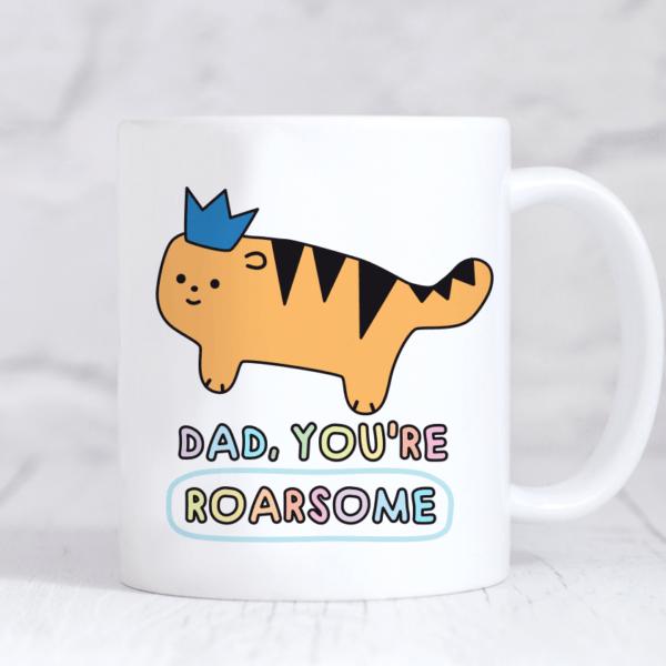 roarsome dad mug