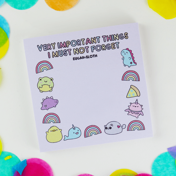 Kawaii cute sticky notes post-its