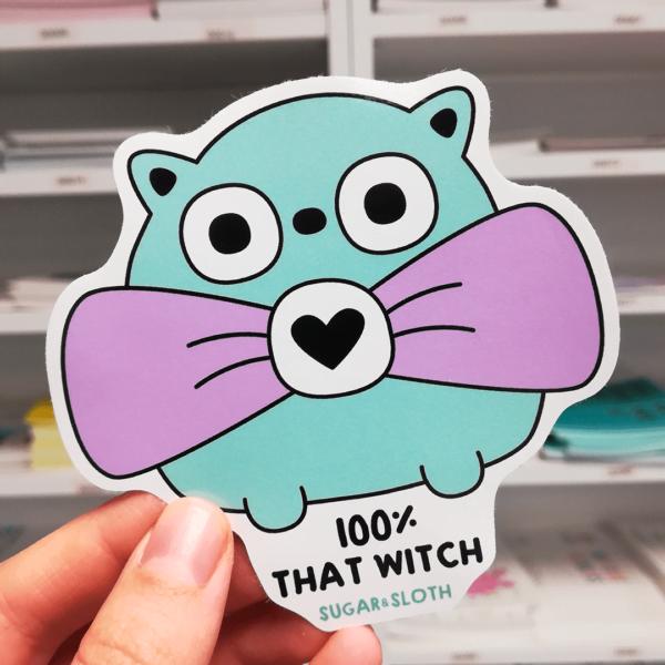that witch sticker