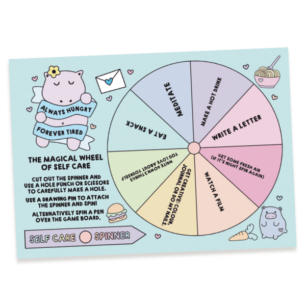 the magical wheel of self-care