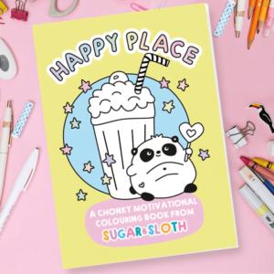 Cute colouring book