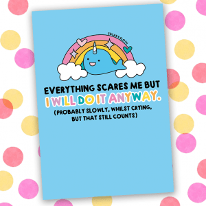 everything scares me notebook