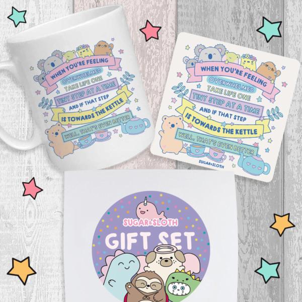 Overwhelmed Gift Set