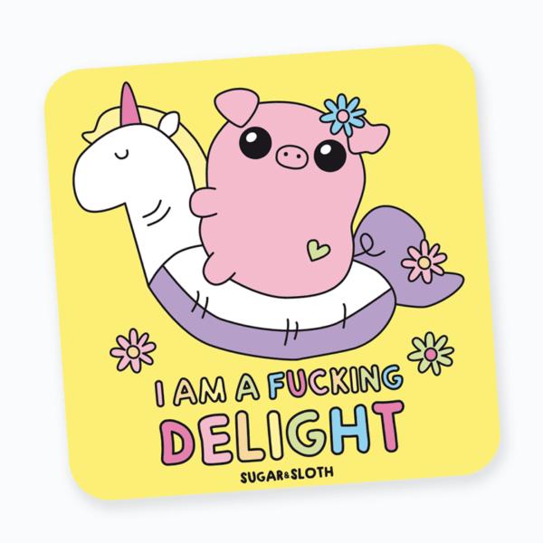cute funny coaster