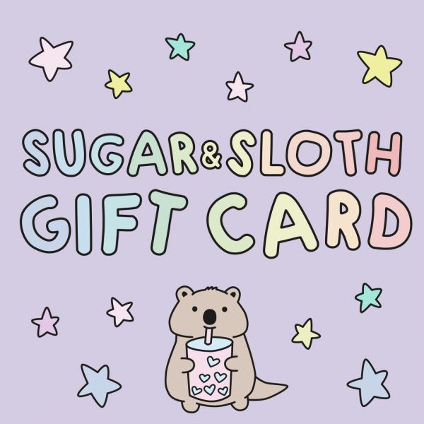 sugar and sloth gift card