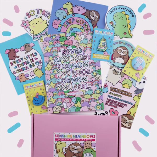 cute gift box for best friend