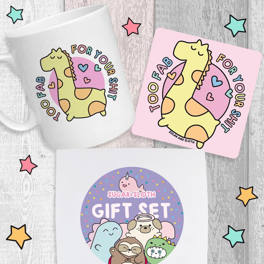 Funny cute Christmas gift set