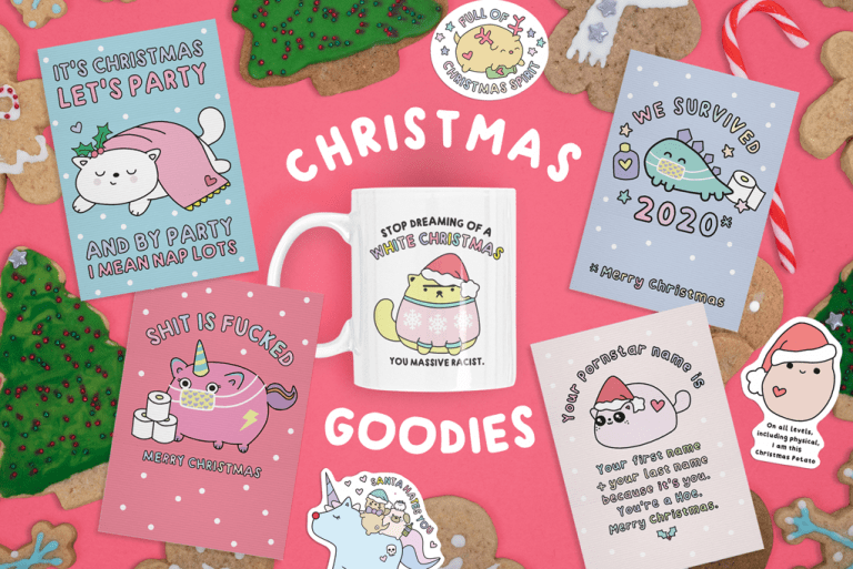 Funny Christmas cards and gifts