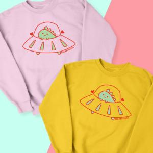 cute dinosaur sweater