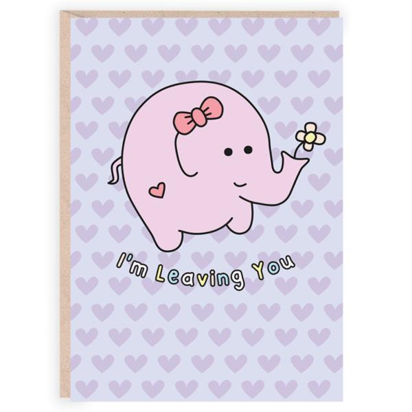 Funny romantic card