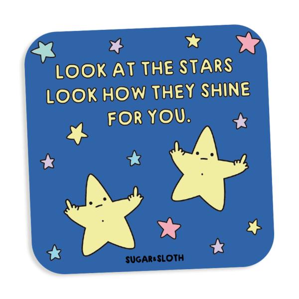 look at the stars coaster