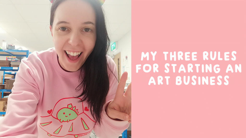 3 rules for starting an art business