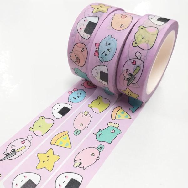 Pink washi tape