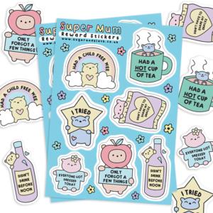 super mum reward stickers