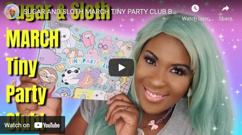 Tiny Party Club Unboxing